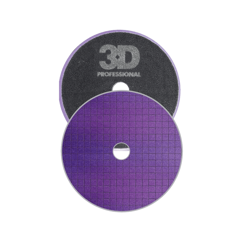 3D Light Purple Medium Cut Spider Pad 6.5""