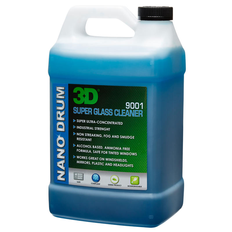 3D Super Glass Cleaner 50:1 (For Dilution System) 4Lt
