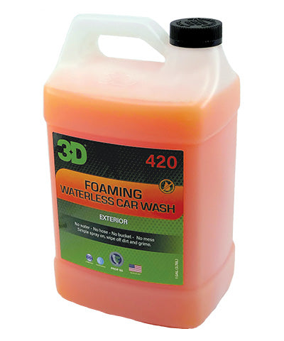 3D Foaming Waterless Car Wash 3.78Lt