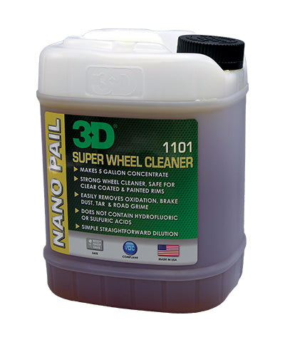 3D Super Wheel Cleaner Nano Pail 1.89Lt