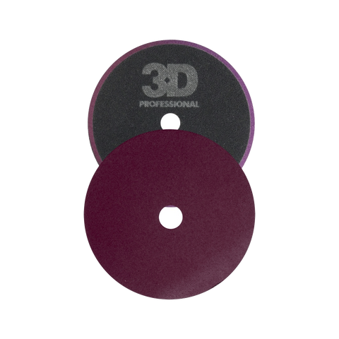 3D Dark Purple Foam Heavy Cut Pad 5.5""