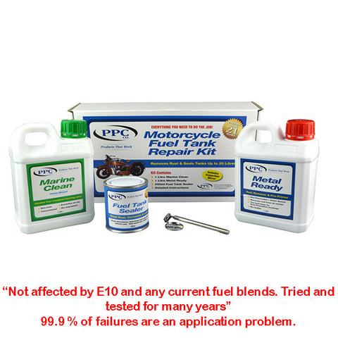 PPC Motorcycle Fuel Tank Repair Kit