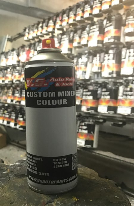 Custom Match spray can