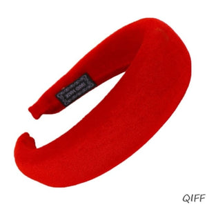 Women Padded Wide Sponge Headband
