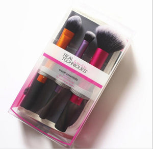 NEW Make up Brushs Makeup sponge Maquillage Real Technique Makeup Brushs Powder Loose Box Belt foundation brush  free shipping