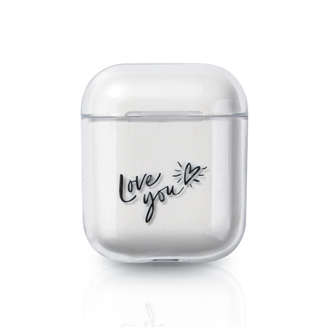 For AirPods Candy Color Case Cute Transparent Cover For AirPods Earphone Thin Case Protector For Airpods Charging Box Hard Coque