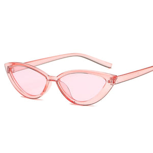 Small Eyes Cat's Eyes Women's Sunglasses for women 90s Cute Sun glasses Master's Eyewear Design glasses