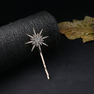 muylinda Branded Design Star Moon Rhinestone Hair Clip Hair pin Fashion Hair Accessories Women Jewelry
