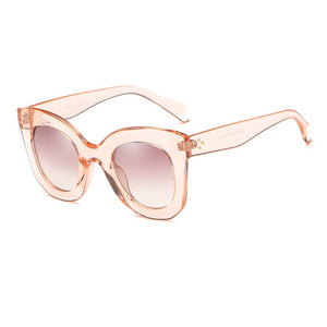 Cat Eye Sunglasses Women Brand Designer Vintage Gradient Cat Eye Sun Glasses Shades For Women UV400 MA216