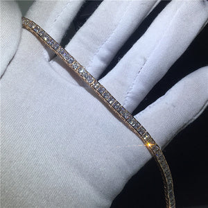 29 Styles Fashion Tennis bracelet White Gold Filled Pave AAAAA Cz stone Statement Party Wedding bracelets for women men Jewelry
