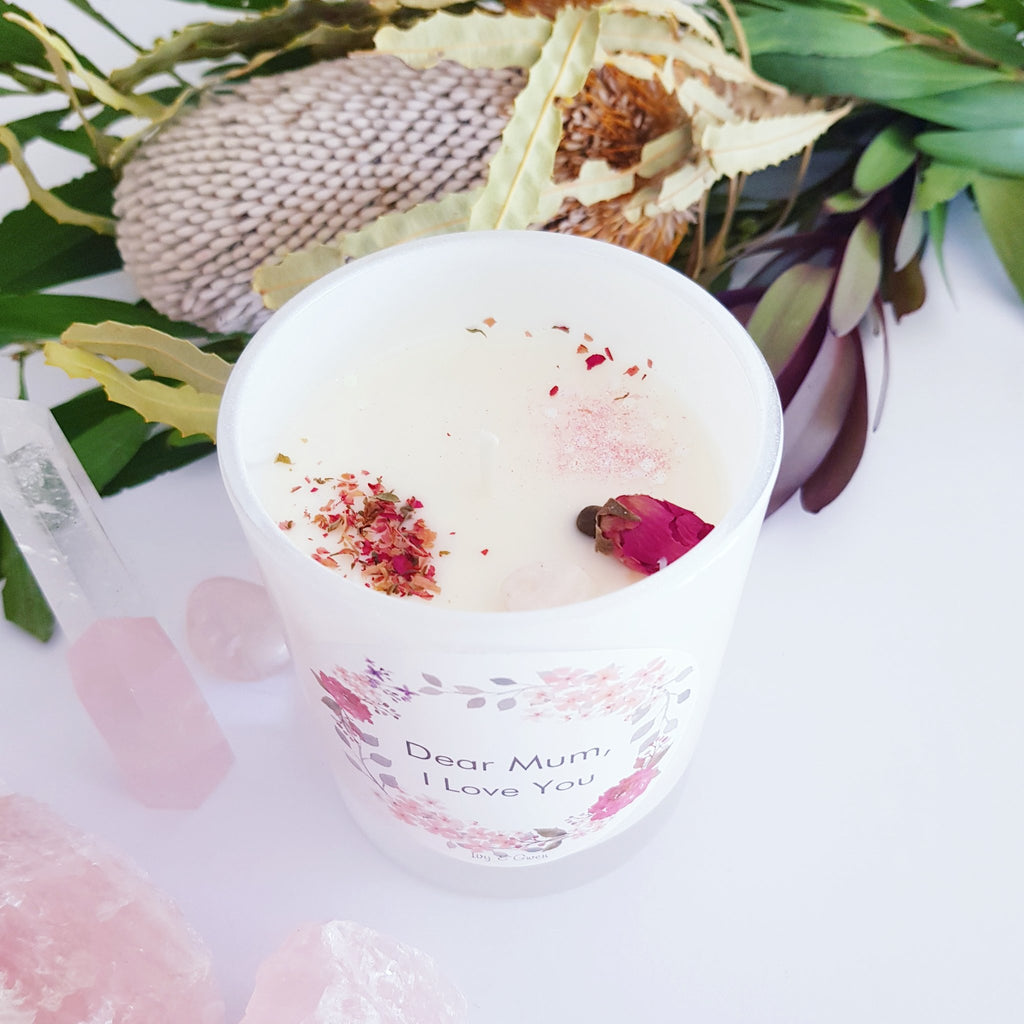 We are excited to introduce our new Mothers Day Candles.