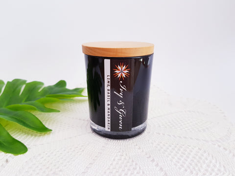 Large - Signature Candle Black
