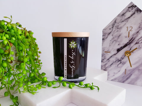 Medium - Signature Candle Black