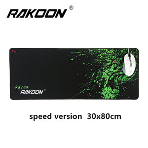 Zimoon Large Gaming Mouse Pad Locking Edge Waterproof  Control & Speed