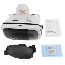 Vmax Large Field Angle Head-mounted Adjustable 3D Virtual Reality VR Glasses With AR Function for 4.7 - 6 Inch Phone Smartphone