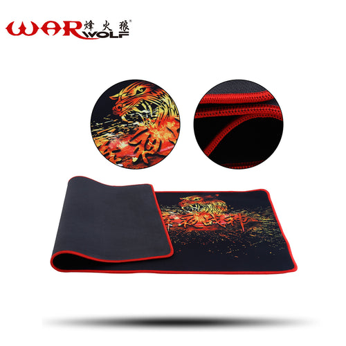 WarWolf Large Size 700*300MM Gaming Mouse Pad