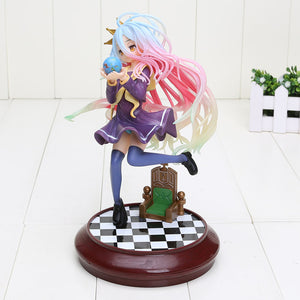 No Game No Life Anime Shiro Game of Life Painted second generation action figure