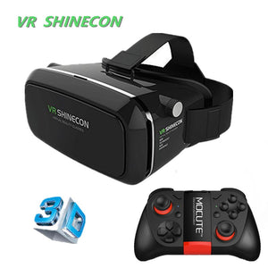 Shinecon Virtual Reality 3D Glasses Google Cardboard 2.0 Pro For 4.5-6.0' Smartphone