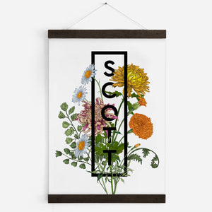 Personalised Birth Flowers Arrangement Print