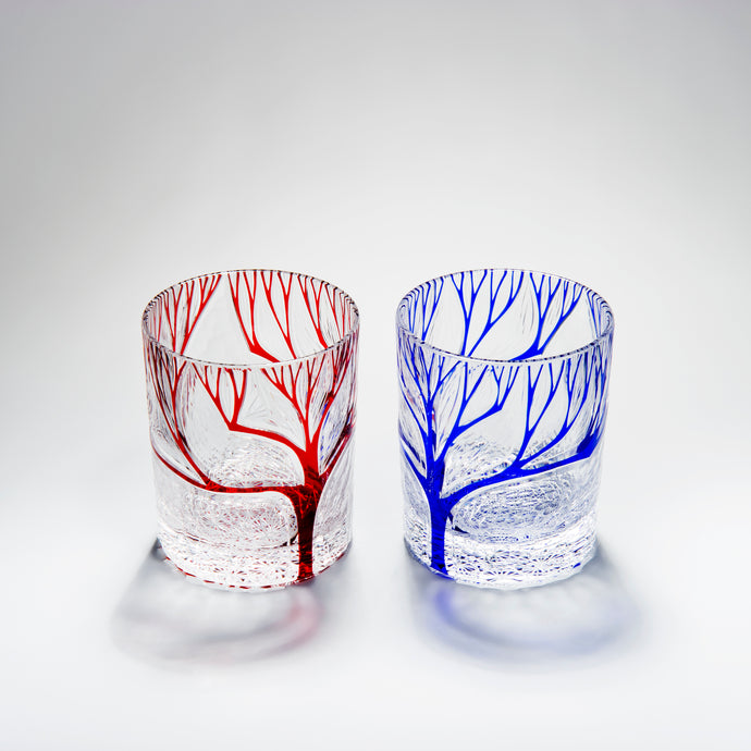 Carved Whisky Glasses