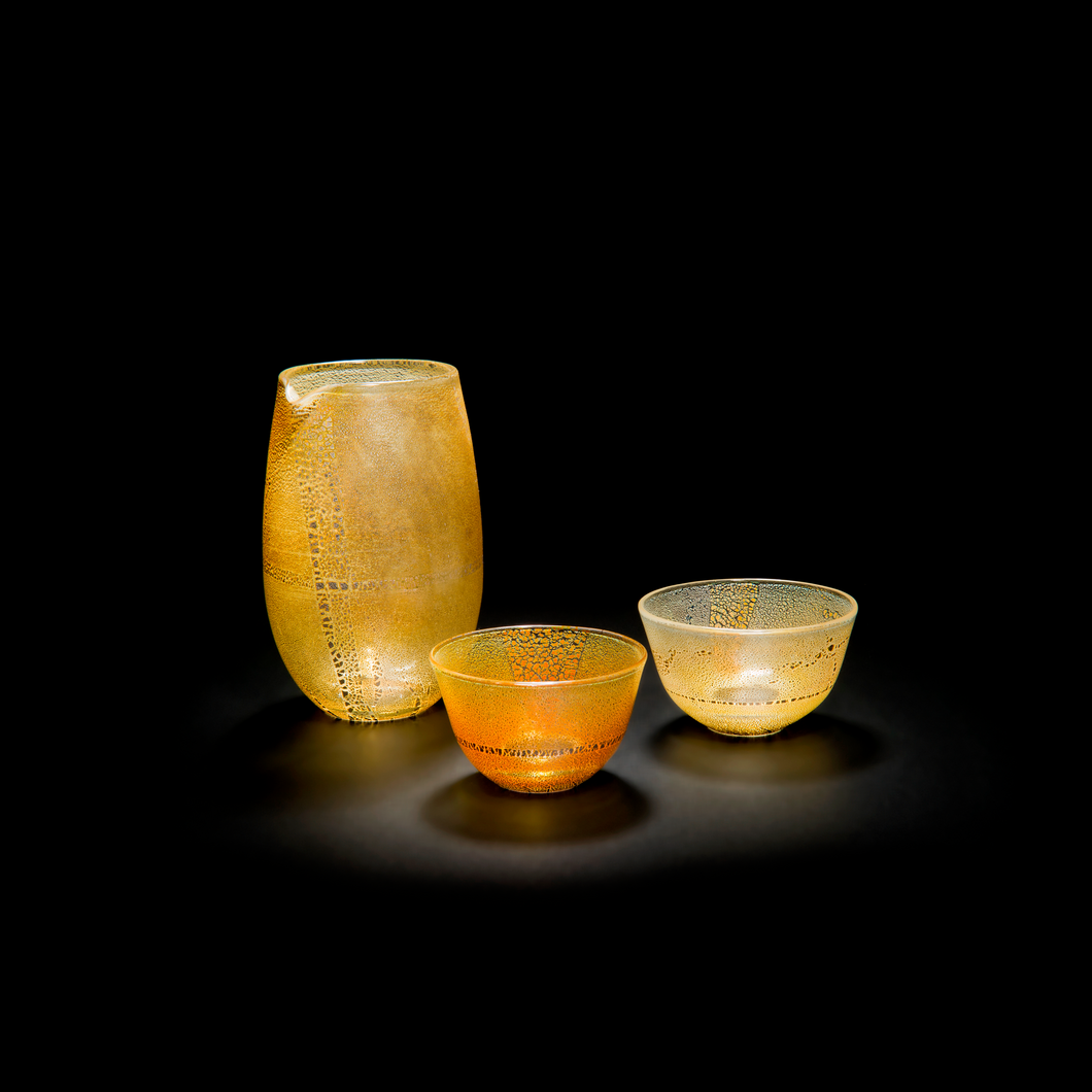 Haku Autumn Sake Set