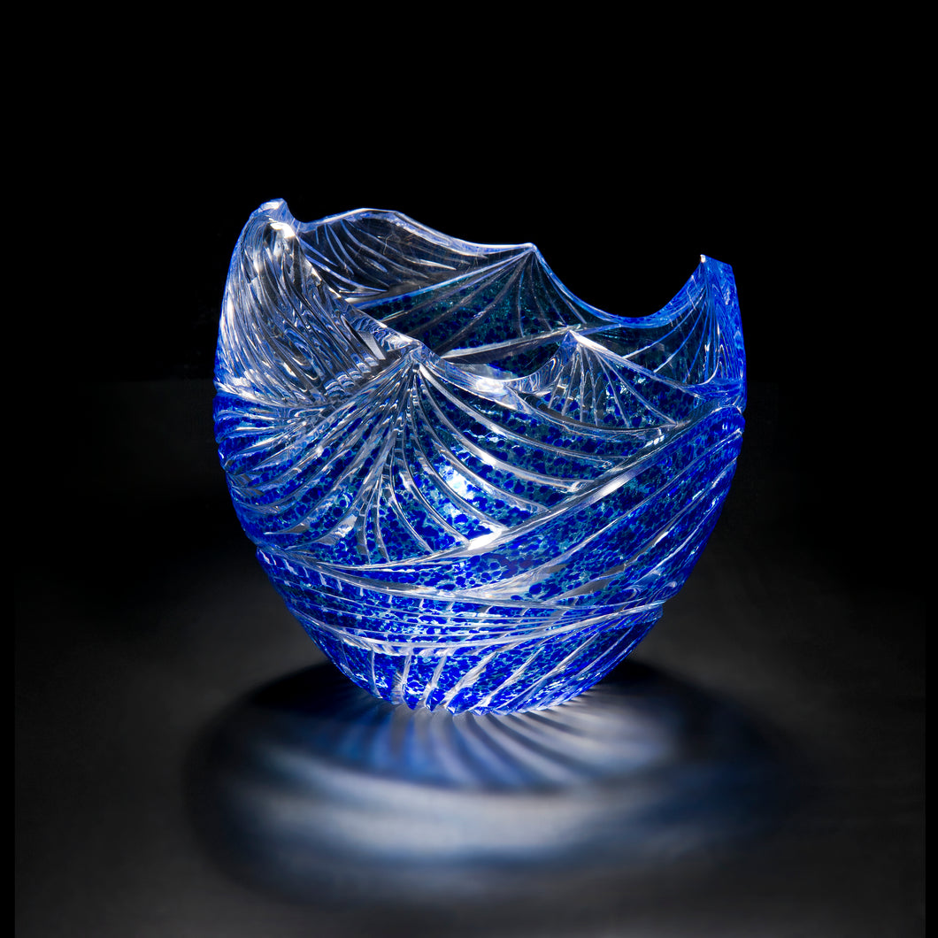 Wave Carved Bowl