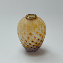 Rain Vase Speckled Orange