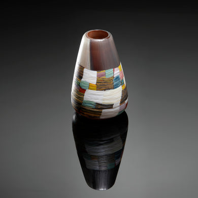 Patchwork Autumn Vase