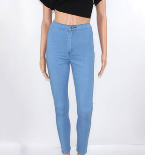 High Waist Skinny Jeans for Women - Altairboutique