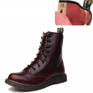 Genuine Leather Ankle Boots for Women - Altairboutique