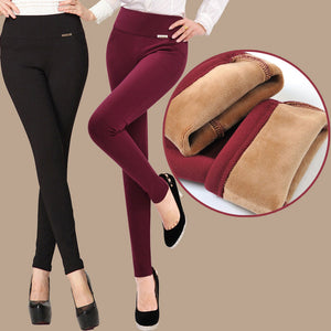 Warm Pencil Pants for Women - Altairboutique