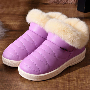 Fur Ankle Boots For Women - Altairboutique