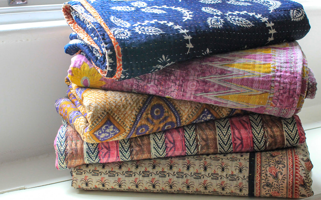 Kantha Quilt UK