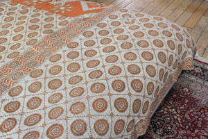Vintage Kantha bedspread - Anokha Collection