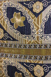Vintage Kantha Quilt pattern detail - Anokha Collection