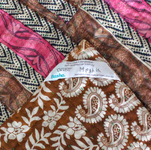 Vintage Kantha Quilt - Anokha Collection