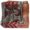 Red Kantha Quilt - Anokha Collection