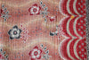 Red Kantha Quilt SIde 2- Anokha Collection