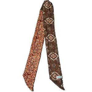 Kantha Headband Brown 2 - Anokha Collection