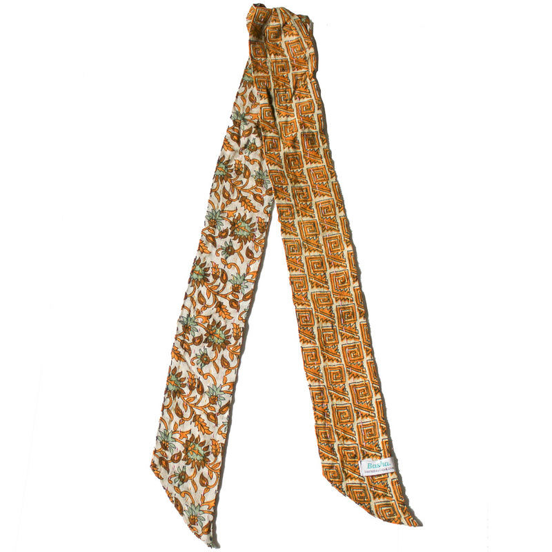 Kantha Headband Yellow - Anokha Collection