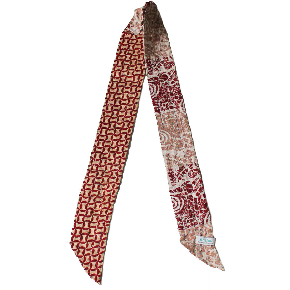 Kantha Headband Red - Anokha Collection