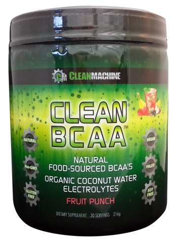 Clean BCAAs fruit punch