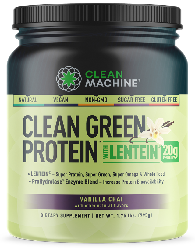 Clean Machine Clean Green Protein with Lentein