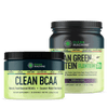 Product Bundle #10 Unflavored CLEAN BCAA and CLEAN GREEN PROTEIN™ with LENTEIN™