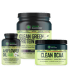 Product Bundle #15 AHIFLOWER OIL, Unflavored CLEAN BCAA, and CLEAN GREEN PROTEIN™ with LENTEIN™