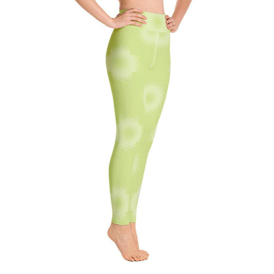 Clean Machine Yoga Leggings GRN