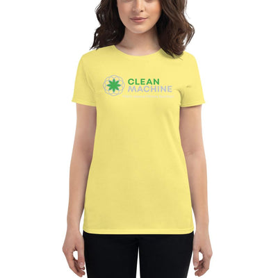 Clean Machine Women's short sleeve t-shirt