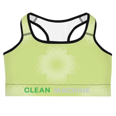 Clean Machine Sports bra GRN