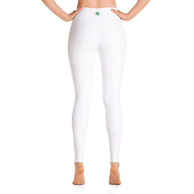 Clean Machine Yoga Leggings WHT