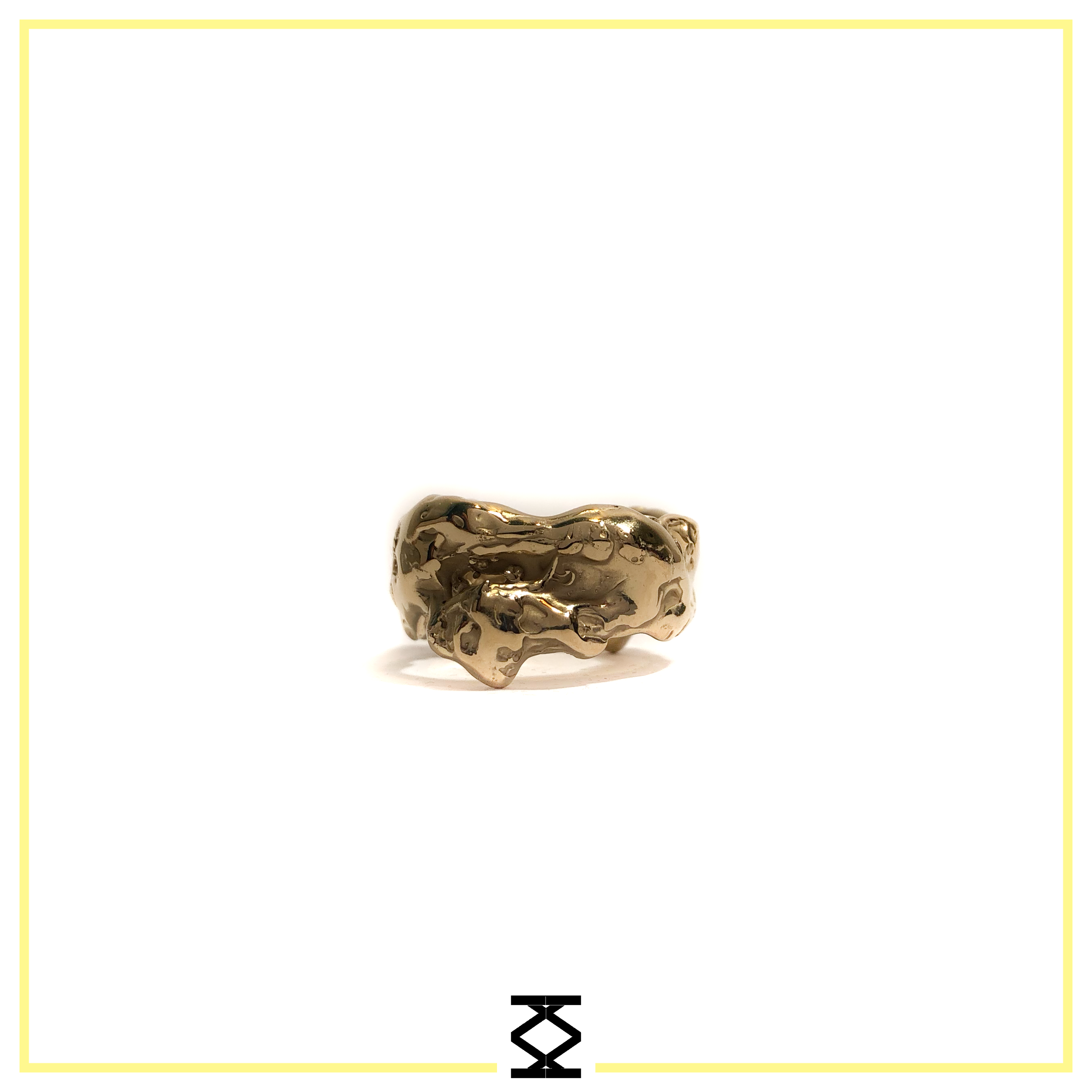 Golden One - Chaos - anello in oro giallo 18kt